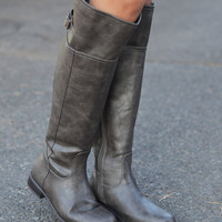 Rider Boots - Taupe