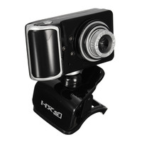 HD Web Camera Clip-on 3 LED Rotating Webcam USB Camera with MIC Microphone Webcamera For Android TV PC Computer