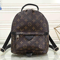 LV Louis Vuitton Classic Zip Backpack Ladies Mini School Bag