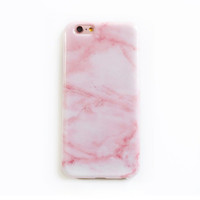 Pink Marble Phone Cases