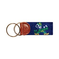 University of Notre Dame Key Fob in Navy by Smathers & Branson
