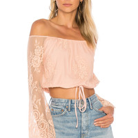 Lovers + Friends Lady Love Top in Nude | REVOLVE