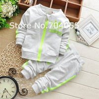2015 Spring Fall Baby Clothing Sets Children Boys Girls Kids Brand Sport Suits Tracksuits Cotton Long Sleeve Shirt + Pants 2pcs