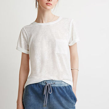 Life in Progress Chambray French Terry Shorts
