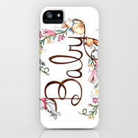 Hello Baby iPhone & iPod Case by Brooke Weeber