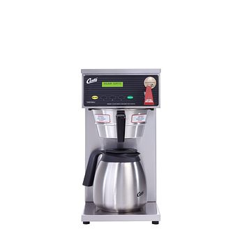 Wilbur Curtis G3 Thermal Decanter Brewer 64 Oz  Single Low Profile Thermal Carafe Coffee Brewer - Commercial Airpot Coffee Brewer  - D60GT12A000 (Each) Ez Store USA