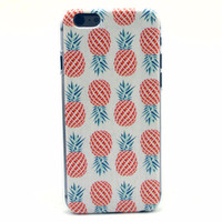 Vintage Pineapple Aloha Print Case for iPhone
