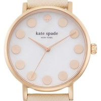 Women's kate spade new york 'metro' boxed dot dial watch & straps set, 34mm (Nordstrom Exclusive)