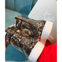 Women's Christian Louboutin Cl Sequin Sneaker