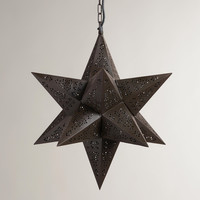 Moravian Star Hanging Pendant Lamp - World Market