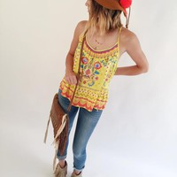 Easy on the Eyes Aztec Tank