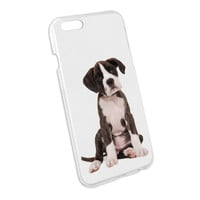 Puppy Dog - Boxer Snap On Hard Protective Case for Apple iPhone 6