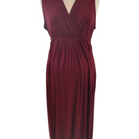 Maroon Maxi Dress by Motherhood *New With Tags*