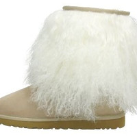 UGG Womens Fluff Momma Mongolian Boot