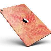 "Tiny Orange Watercolor Hearts Full Body Skin for the iPad Pro (12.9"" or 9.7"" available)"