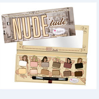 New The Balm Nude eye shadow thebalm Nude tude 12 Colors Eyeshadow Palette makeup set cosmetics