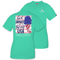"Simply Southern ""Sweet USA"" Short Sleeve Tee"