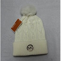 Tagre™ MK Fashion Logo Knit Beanies Hat Warm Woolen Hat