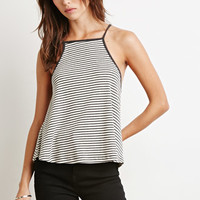 Striped Rib Knit Tank