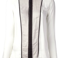 Women  -  All - Helmut Lang Paneled Shirt - DIVERSE