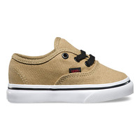 Toddlers Twill & Gingham Authentic | Shop Toddler Shoes at Vans