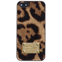 MICHAEL Michael Kors Haircalf iPhone 5 Case - Leopard