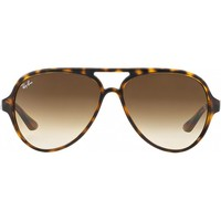 [Ready Stock] Summer AUthentic Rayban Sunglasses Cats 5000 RB4125 710/51 Men Women Glasses