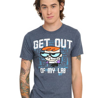 Dexter's Laboratory Get Out Of My Lab T-Shirt