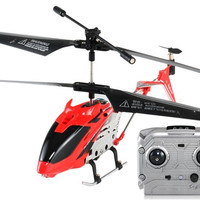 ST585-1 Shatter-proof 3.5-Channel Remote Control RC Helicopter with Gyroscope (Red)