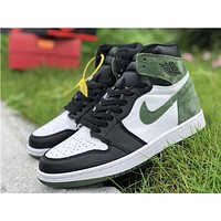 Air Jordan 1 Retro Og Hi 555088-135 Sneaker Shoe