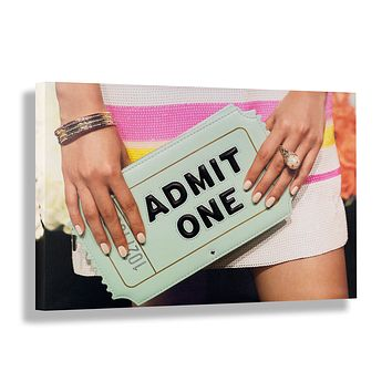 Admit One | Canvas Art