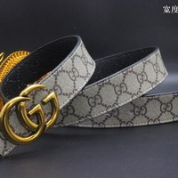 Gucci Belt Men Women Fashion Belts 537498
