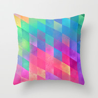 byde Throw Pillow by Spires