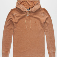Volcom Murphy Mens Hooded Thermal Mocha  In Sizes