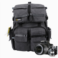 National Geographic Walkabout 5070 NGW5070 NG W5070 doubleshoulder DSLR Camera Rucksack Backpack Laptop bag for Canon Nikon Sony