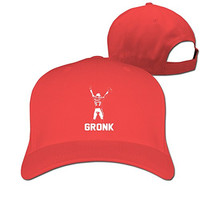 Yesher Fashion 87 NO.87 Gronk Logo Baseball Cap - Adjustable Hat - Red