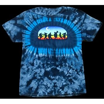 Mens Grateful Dead Moondance Tie Dye T-Shirt