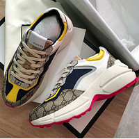 keniii  Givenchy  YSL  DIOR  LV  GG Men's and women's  RETRO JOGGING SHOES