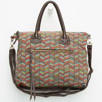 T-Shirt & Jeans Braided Handle Tote Multi One Size For Women 26433895701