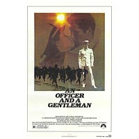 An Officer and a Gentleman 11x17 Movie Poster (1982)