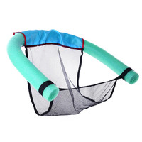 Portable Water Swimming Pool Seats Multi Colors Pool Floating Bed Chair Pool Chair Water Supplies for Adults Children Women