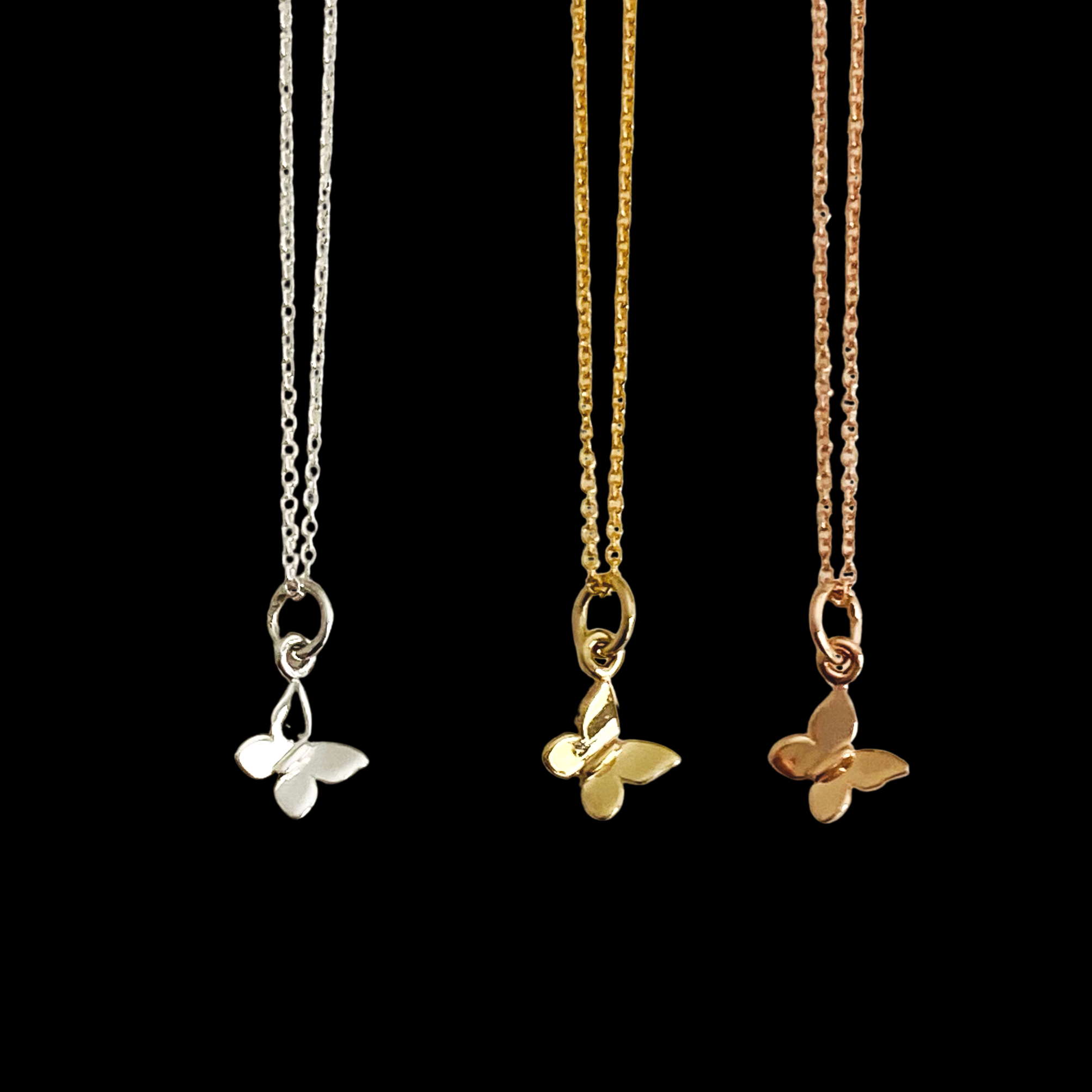 Image of Petite Butterfly Necklace
