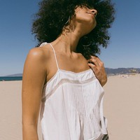 UO Cropped Swing Cami | Urban Outfitters