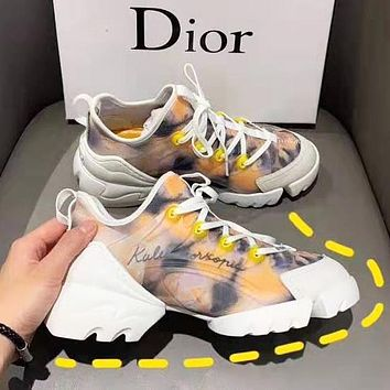 DIOR Popular Women Personality Multicolor Sport Running Shoes Sneakers