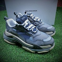 ONETOW Balenciaga Triple-S 17FW Retro Sneaker Grey Shoes  - Best Online Sale