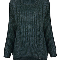 Knitted Jumper in Blue