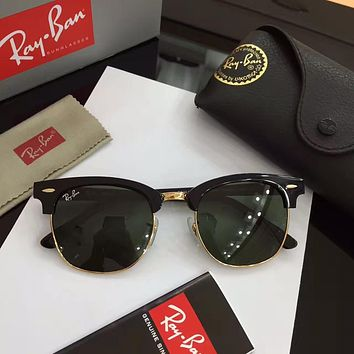 Ray Ban Clubmaster Classic Sunglasses Model RB3016 ( RB 3016 ) Color Style 6