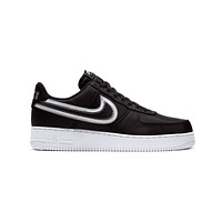 Nike Men's Air Force 1 Low Reverse Stitch '07 LV8 Black