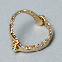 The Little Mermaid Collection Shark Jaw Ring