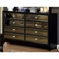Breathtakingly Awesome Wooden Dresser In Contemporary Style, Black By Casagear Home